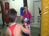 Мастер класс по боксу.